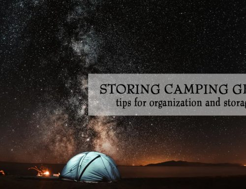 Organizing and Storing Your Camping Gear