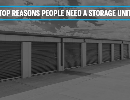 Top Reasons People Need A Storage Unit