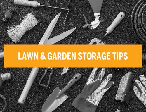 Lawn and Garden Storage Tips