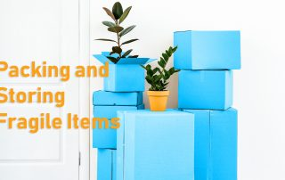 Packing and storing fragile items