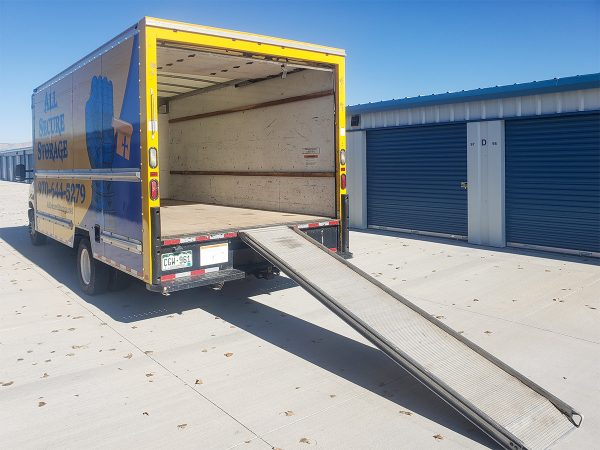 moving truck rental from All Secure Storage in Grand Junction, CO