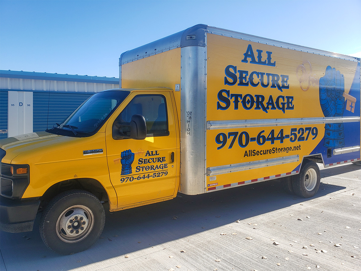 moving truck rental from All Secure Storage in Montrose, CO