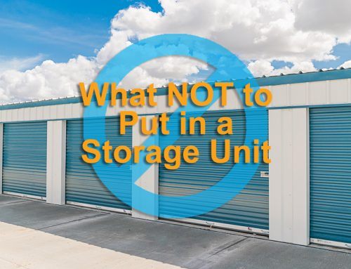 What NOT to Put in a Storage Unit