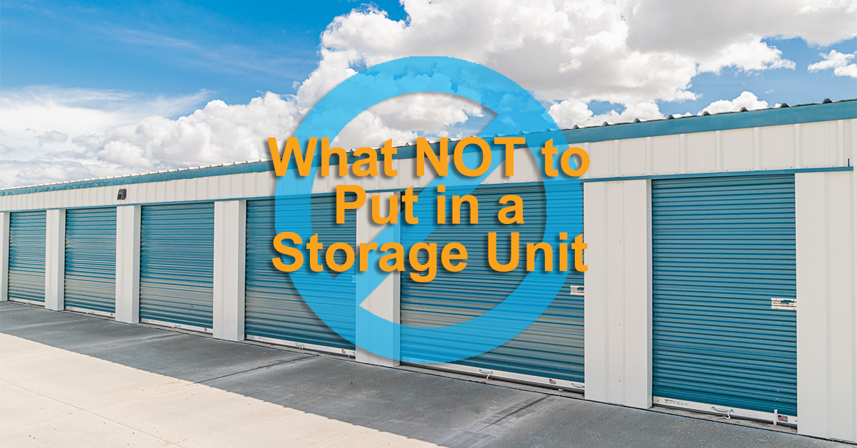 What Not to Put in a Storage Unit Featured Image