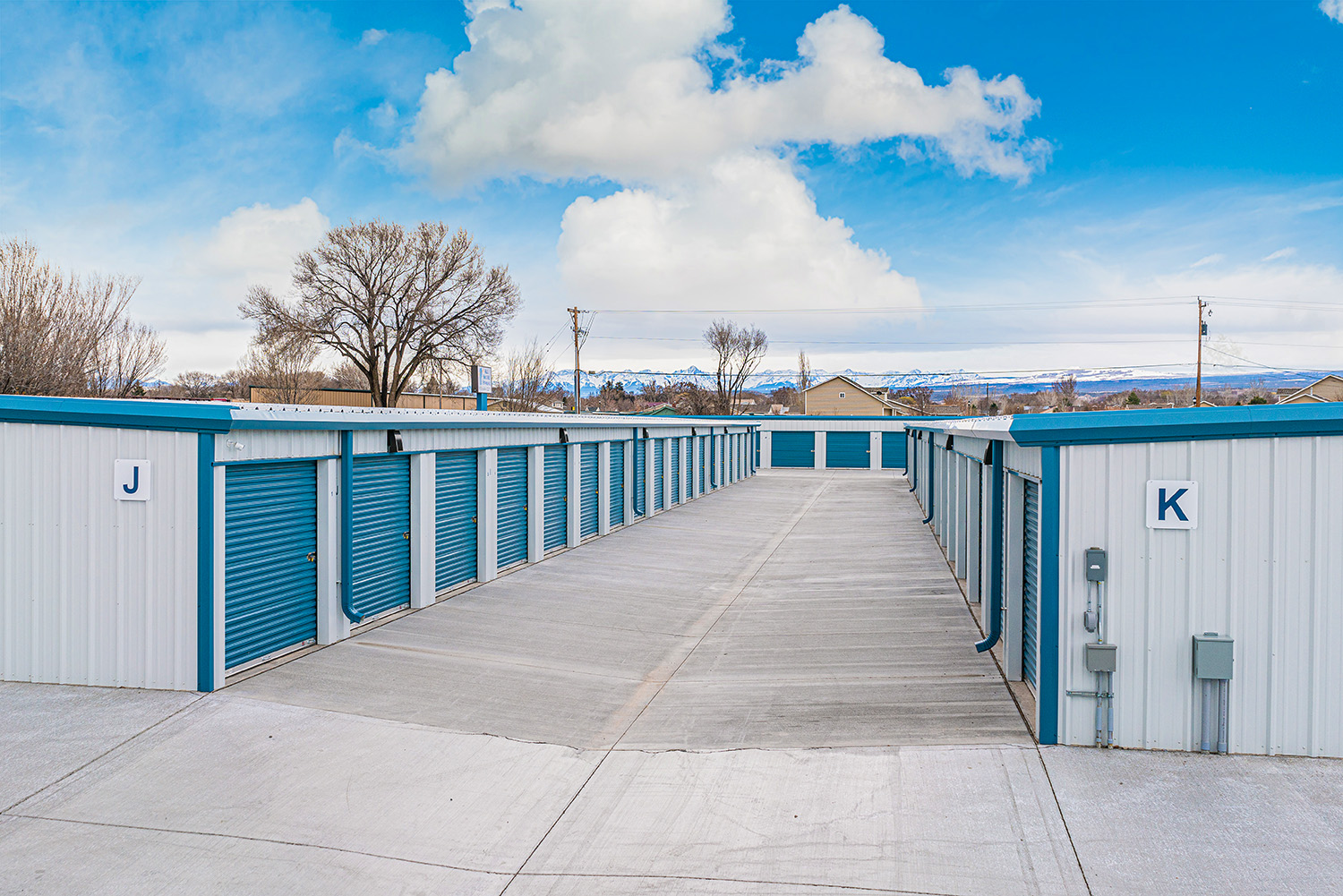 Montrose CO Storage Facility with San Juan Mountain Views