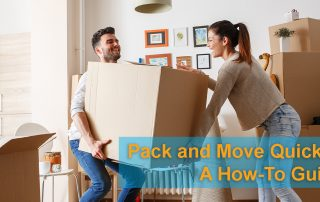 Pack and Move Quickly: a How-To Guide