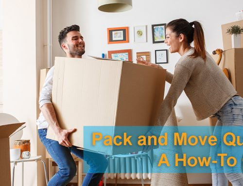 How to Pack and Move Quickly