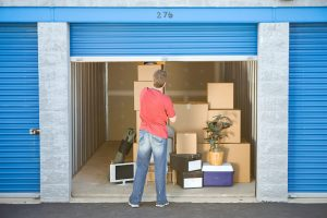 Grand Junction man using a storage unit before he moves