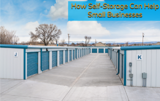 All Secure Storage units ready to help small businesses.