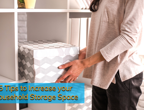 5 Tips to Increase your Household Storage Space
